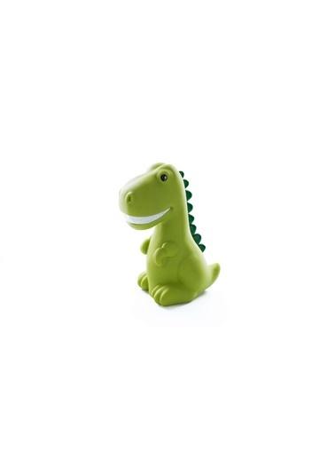 Dhink Dhink Dinozor Model Zamanlayıcı Özellikli Renk Değiştiren Renk Led Gece Lambası Yeşil